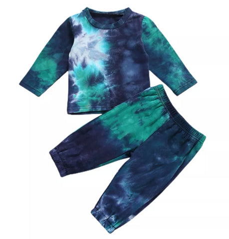 Fall Tie Dye Set