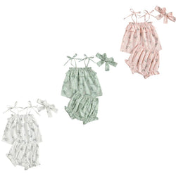Sweet Baby Linen Like Set