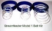 235MOD1KT Streamfeeder Model 1 Belt Kit