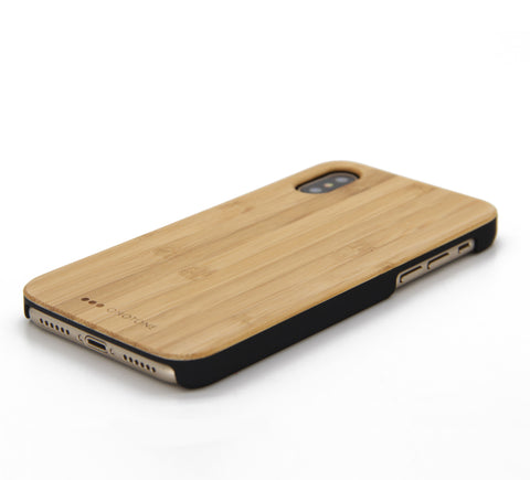 iPhone X case bamboo