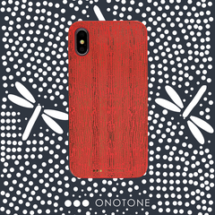 Red iPhone case Onotone