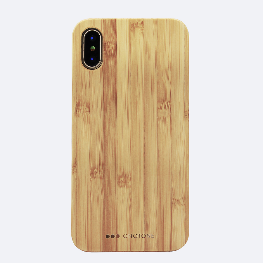 Bamboo iPhone case for minimalist