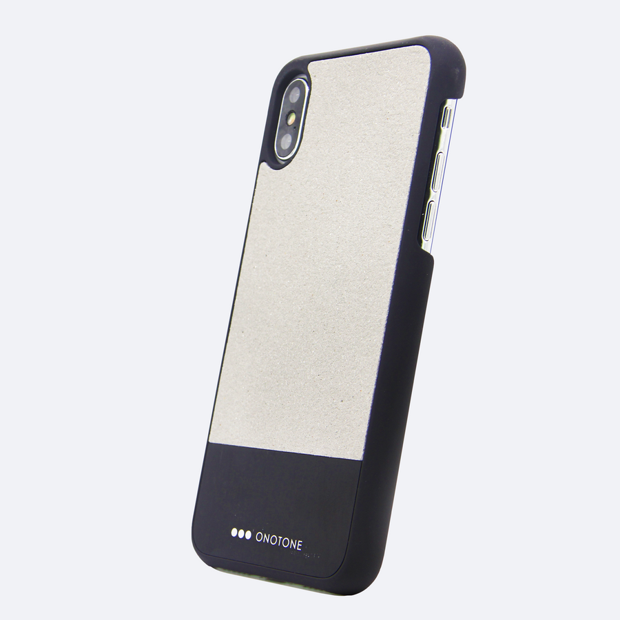 black aluminum  iPhone case with real aluminum