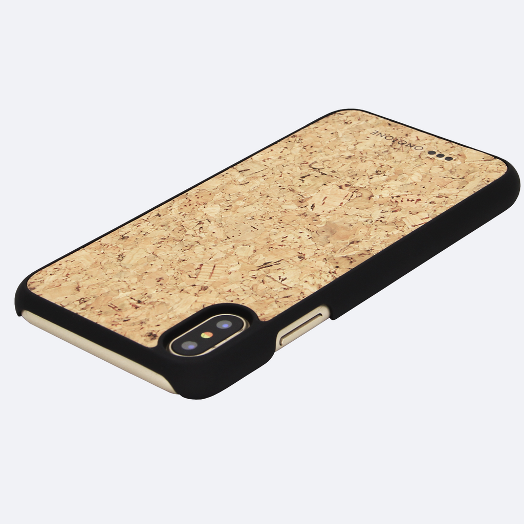 Cork iPhone cases