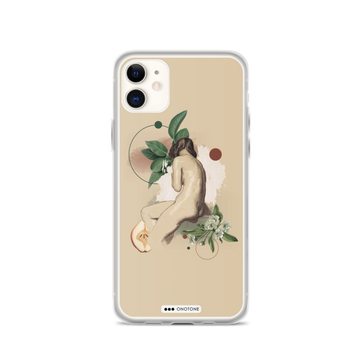 naked lady iPhone case