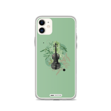 Collage violin iPhone case