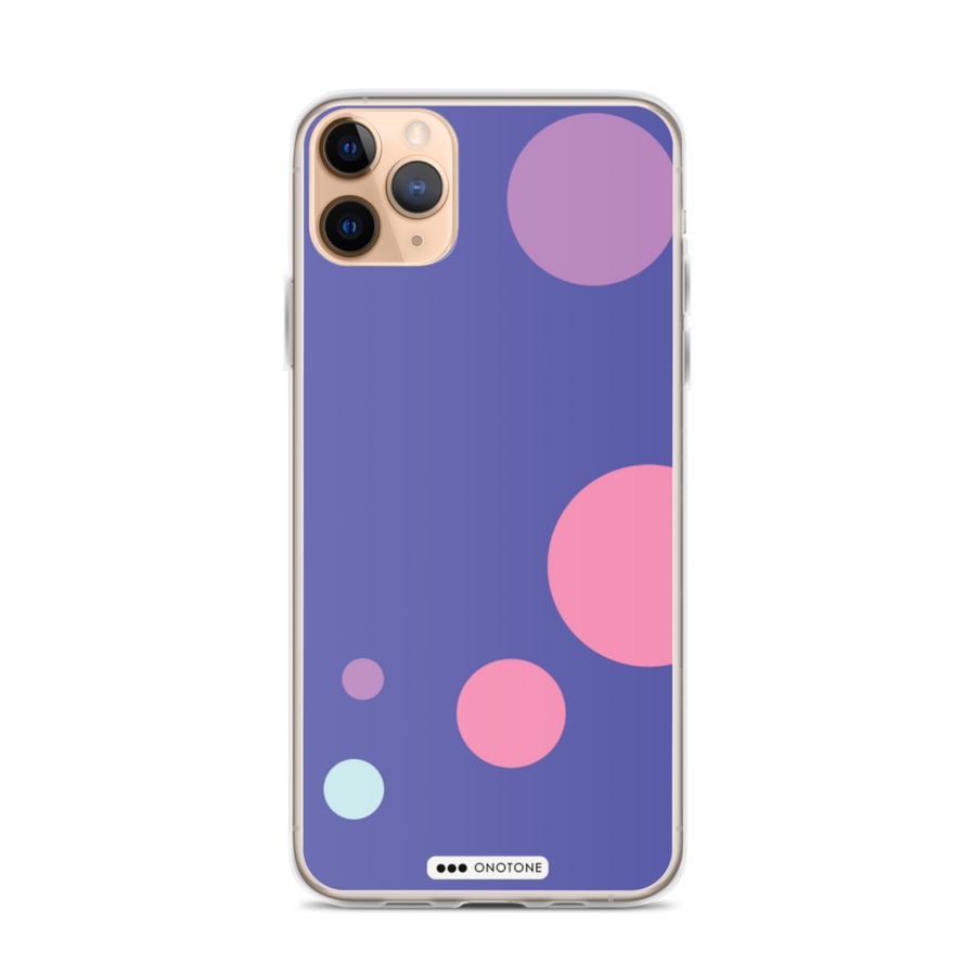 Pink & Purple iPhone Case