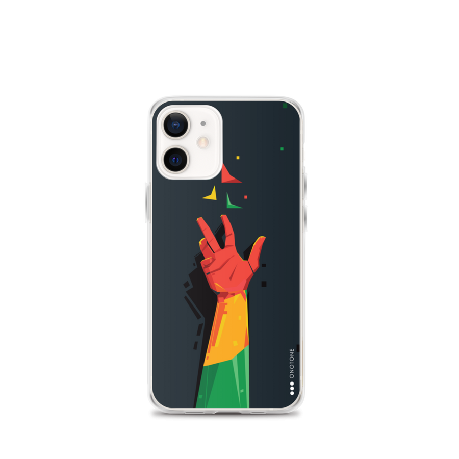 Peace reggae iPhone case