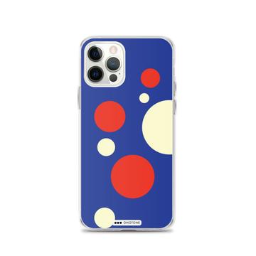 Red Blue White iPhone Case