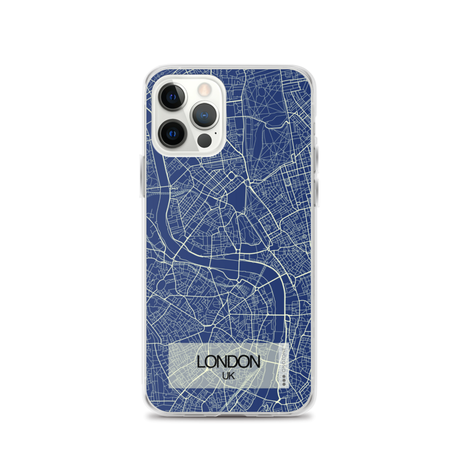 London City Map iPhone Case