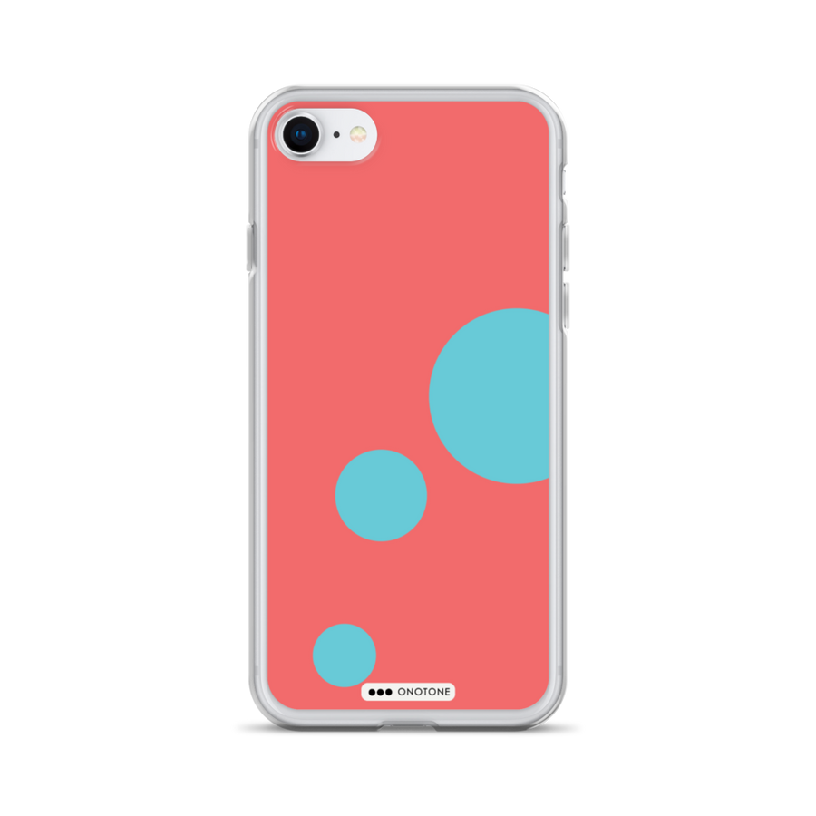 Blue red iPhone Case