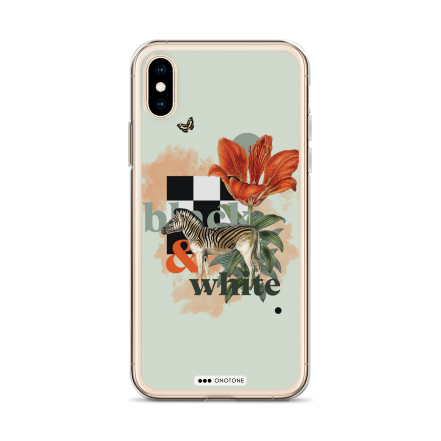 collage flower iPhone case
