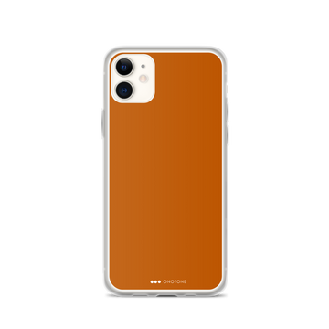 Alloy Orange iPhone Case