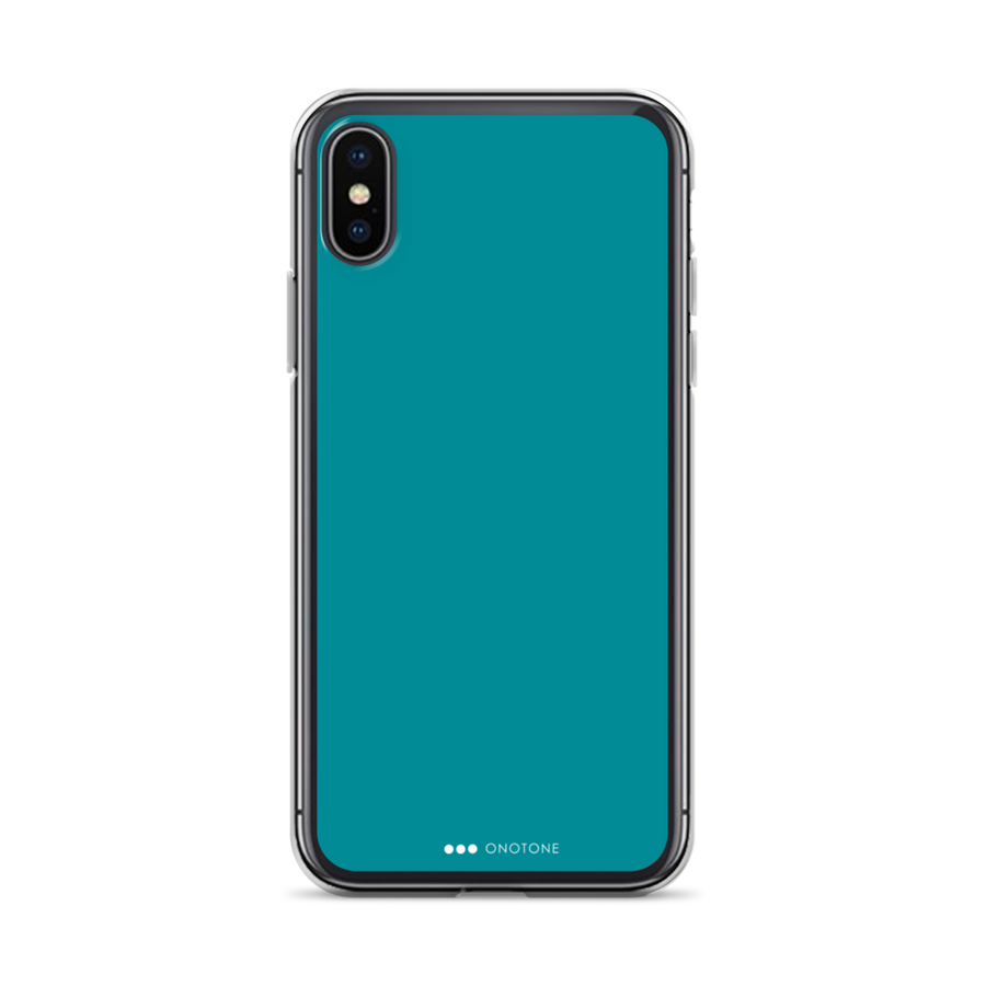 Ocean green iPhone Case