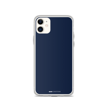 Dark blue iPhone