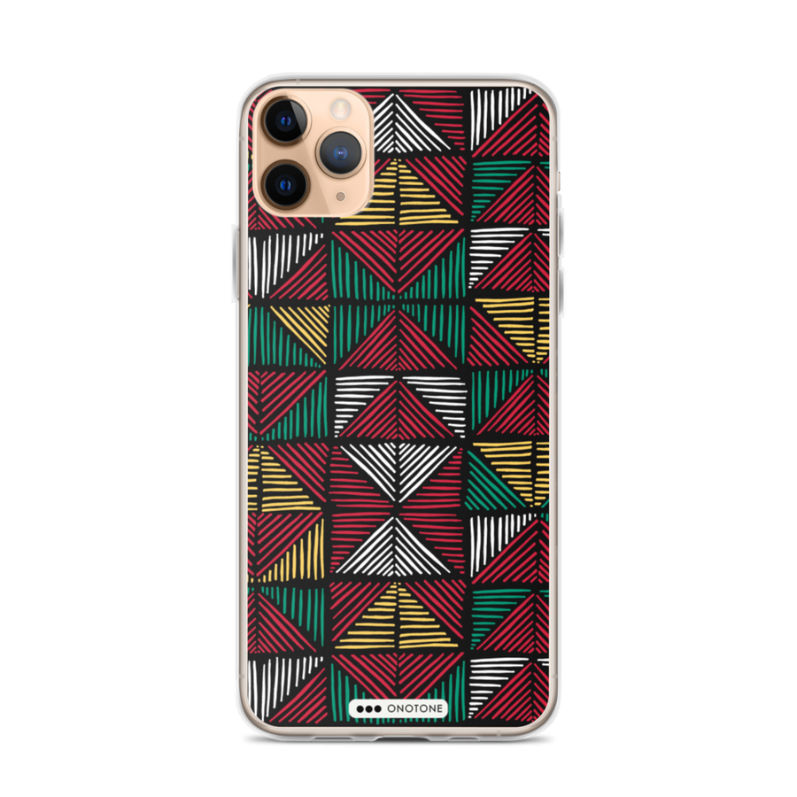 african colors iPhone 11 case