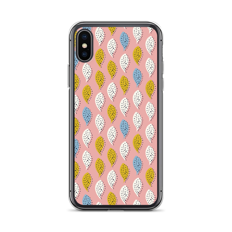 pink patter iPhone case