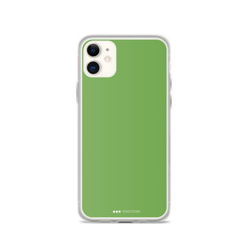 Bud Green iPhone Case