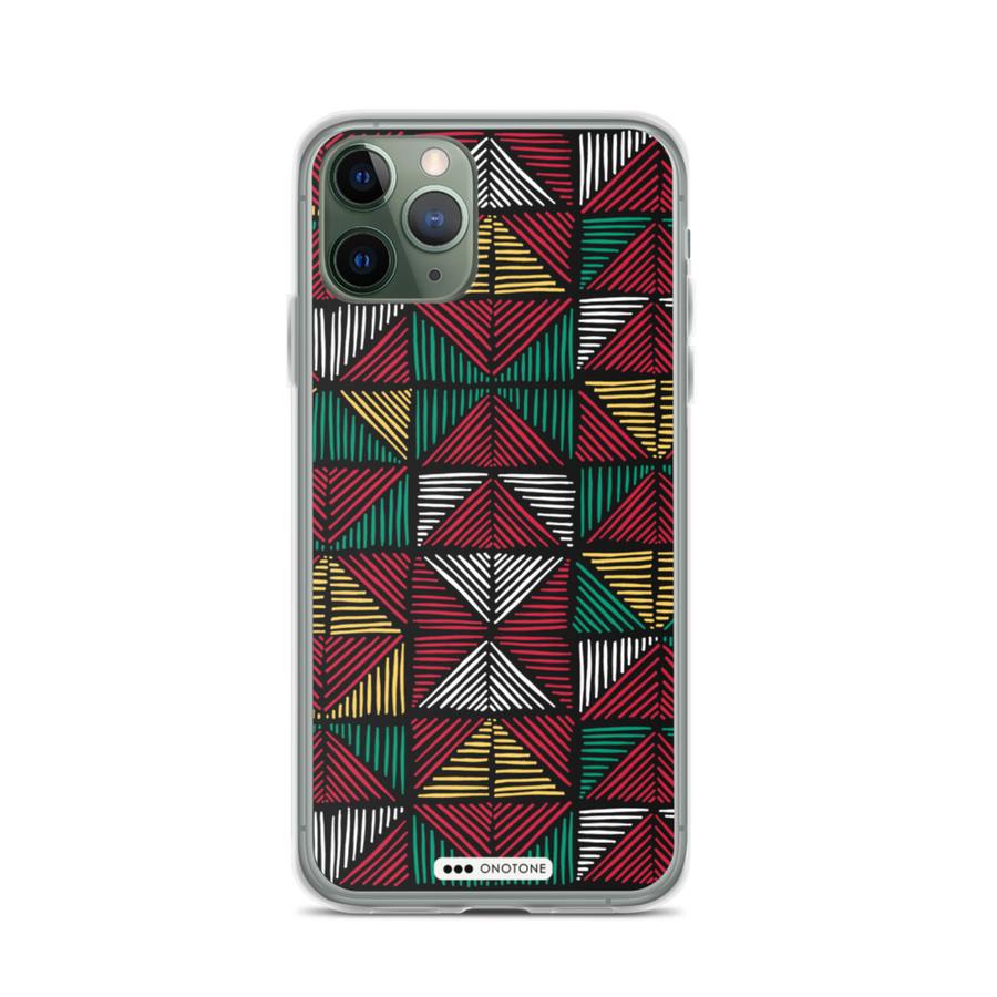 african colors iPhone 12 pro case