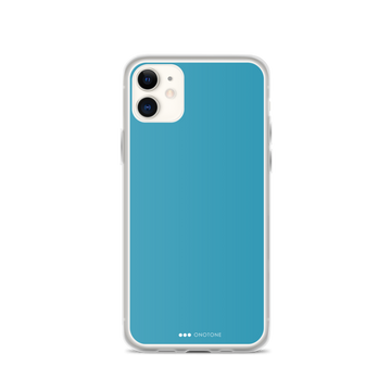 Ocean blue iPhone Case