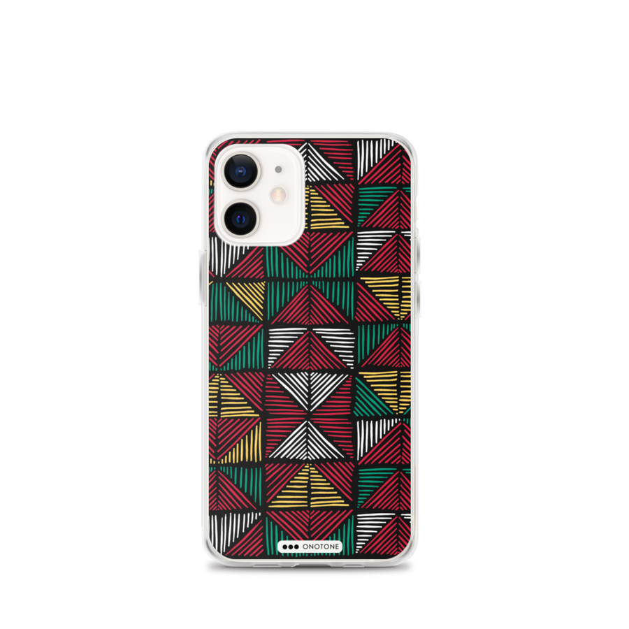 african colors iPhone 12 max case