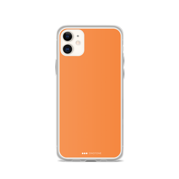 Carrot Orange iPhone 12 case