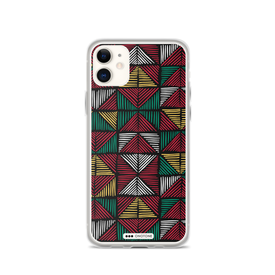 african colors iPhone 12 case