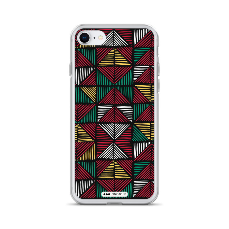african colors iPhone 8 max case