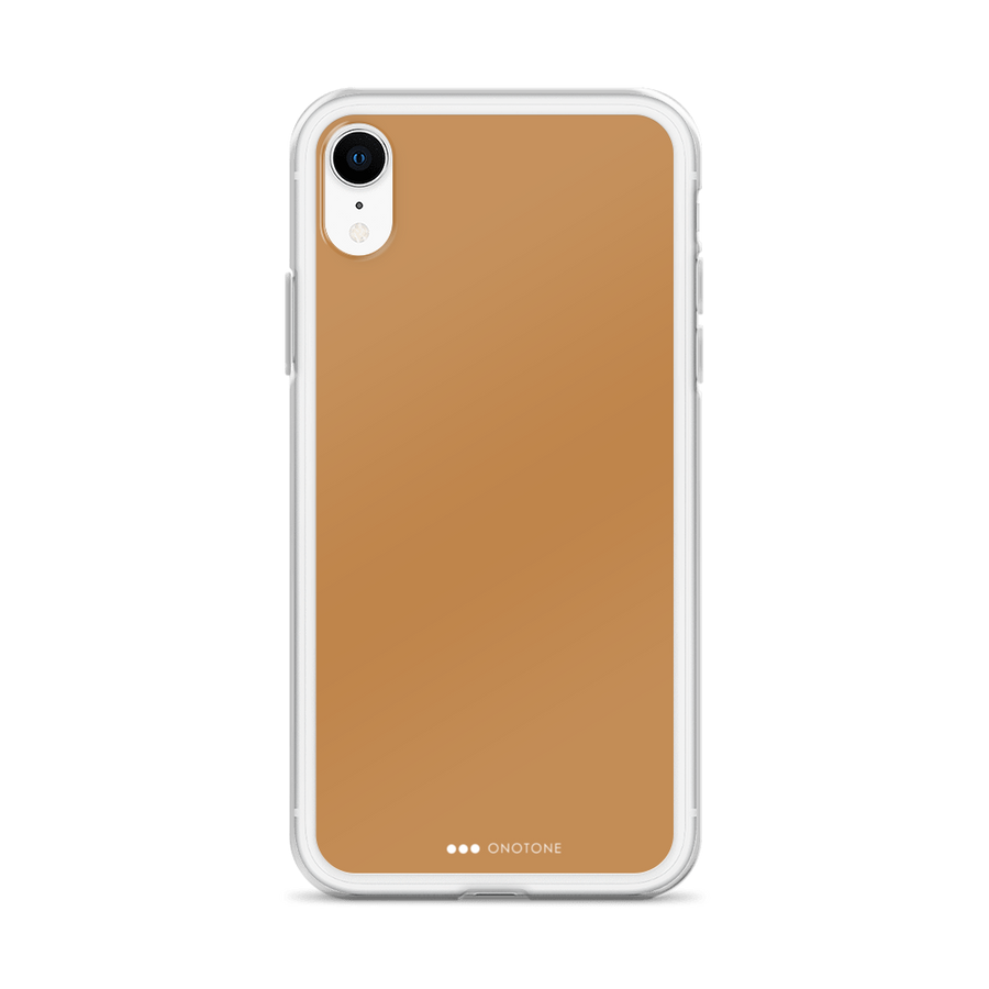 copper brown iPhone case