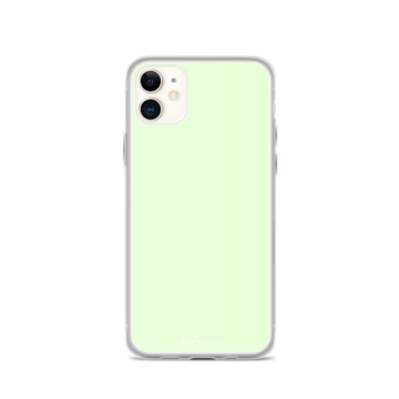 Light green iPhone 12 case