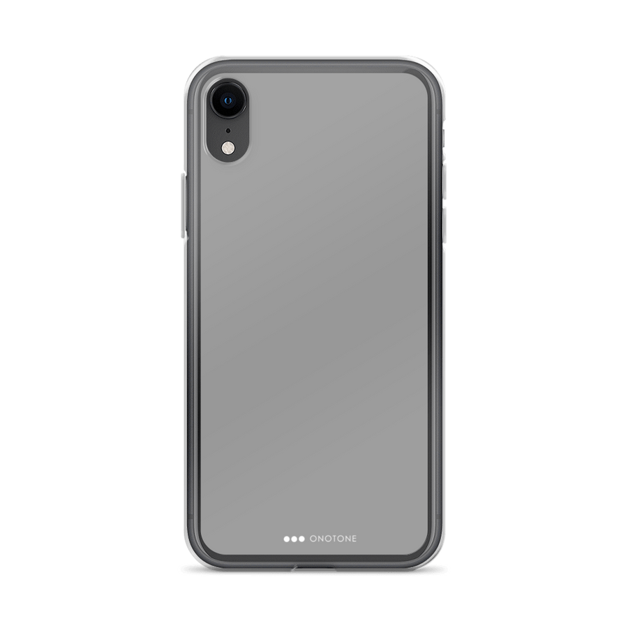 concrete gray iPhone case