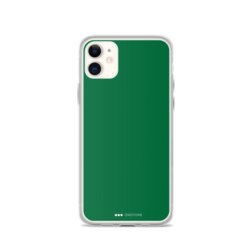 Dark Green iPhone Cased