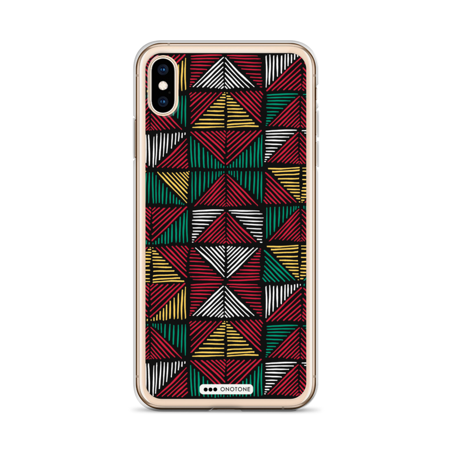 african colors iPhone case