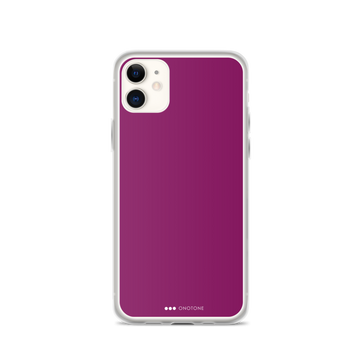 Ruby Purple iPhone Case