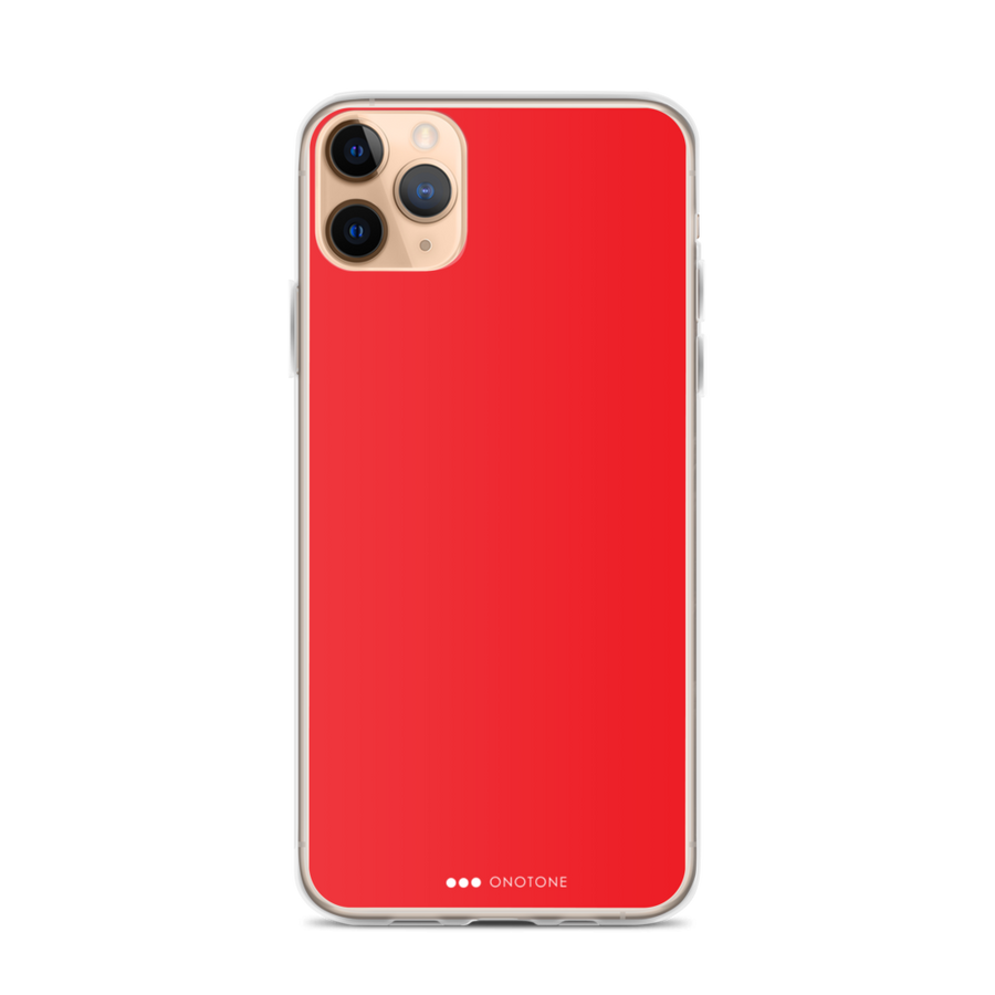 red iPhone 12 pro case