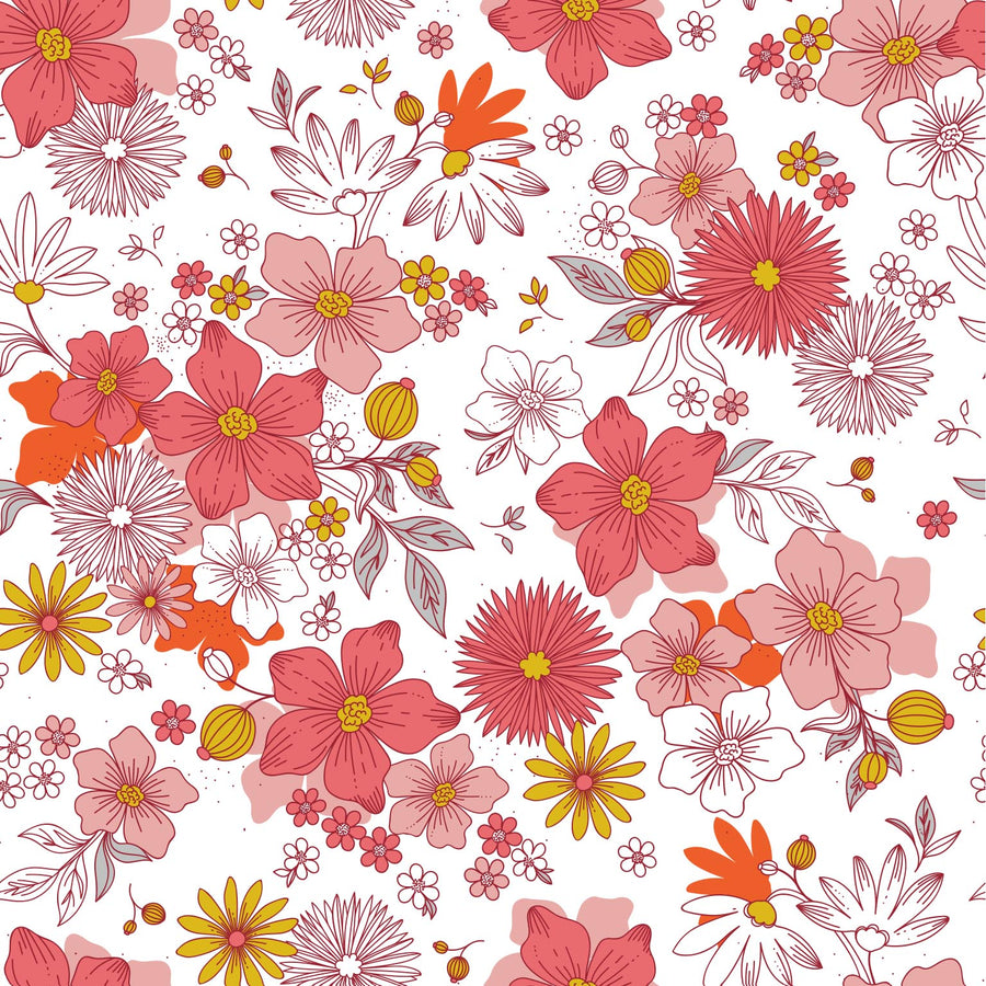 Pink Flowers - iPhone Case