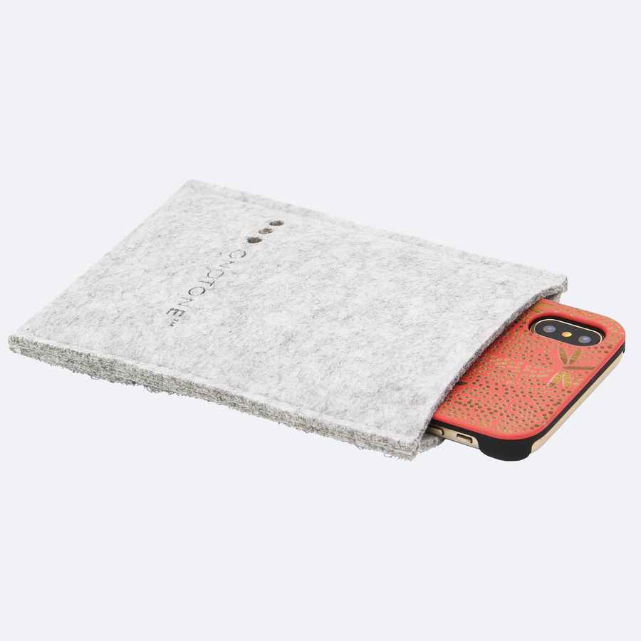 Felt iPhone pouch