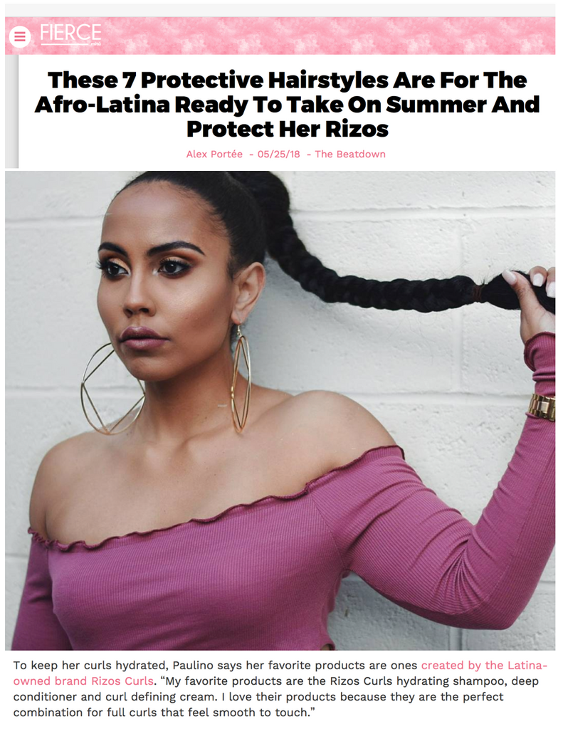 Rizos Curls Featured In We Are Mitú