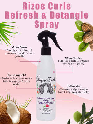 Refresh & Detangle Spray