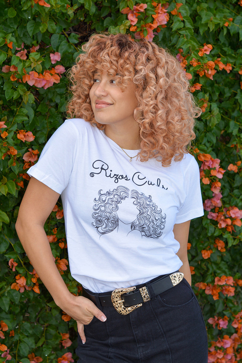 Rizos Curls T-Shirt: Relaxed Fit
