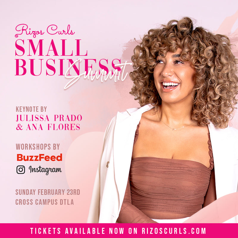 Ticket For: Rizos Curls Small Business Summit 2/23 10am-3pm
