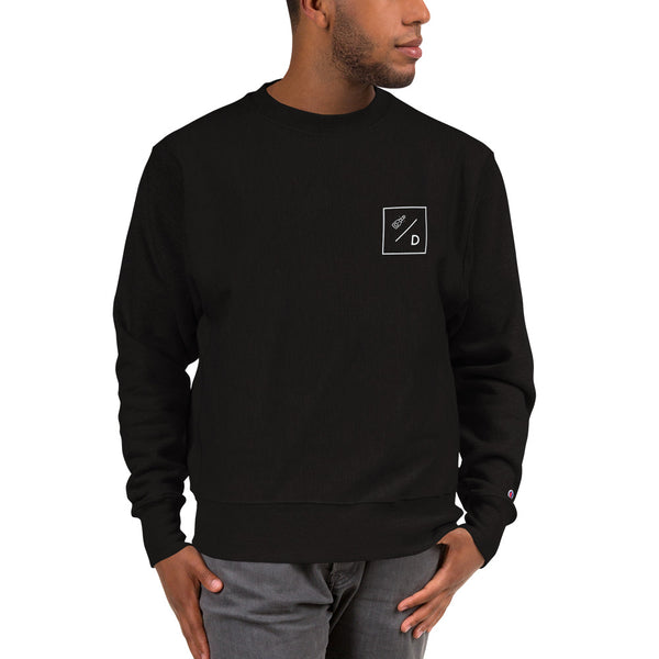 Champion Sweatshirt with Champagne Diet Logo