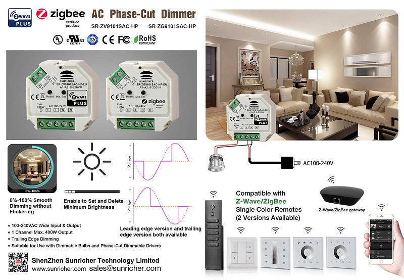 Review of Sunricher's Zigbee/ZV DC Battery Powered Wall Rotary
