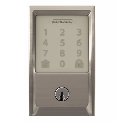 Schlage Encode Smart Deadbolt (Satin Nickel)