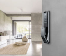 Samsung Push & Pull Digital Door Lock SHS-P717LMK/EN (Silver)