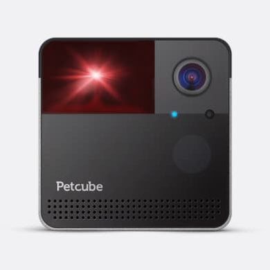 Petcube Play 2 – Pet Camera/Laser – Silver 2Tone