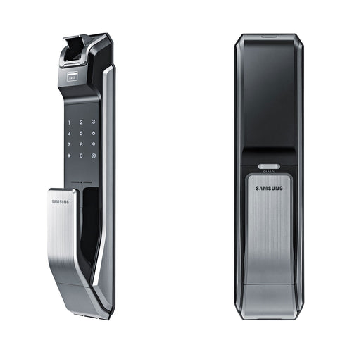 Samsung Biometric Push & Pull Digital Door Lock SHS-P718LMK/EN – (Silver)