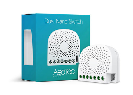 AEOTEC Nano Dbl Switch InWall