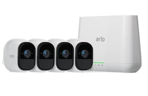 Arlo Pro 2 - Wire-Free HD Camera 4 Security System (VMS4430P)