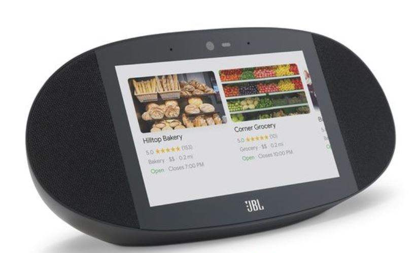 JBL Link View Smart Display Speaker with Google Assistant